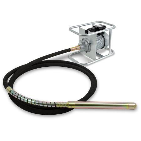 EBERTH Vibrador eléctrico de hormigón 2 CV / 1.500W