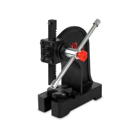 EBERTH Prensa de mandril giratorio para taller, 1000 kg