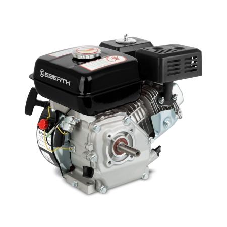 EBERTH Motor de gasolina 6,5 CV/4,8 kW y 196 cc
