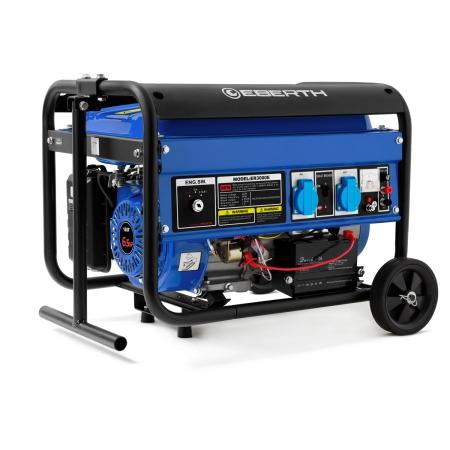 EBERTH Generador eléctrico 3000W y 6,5 CV