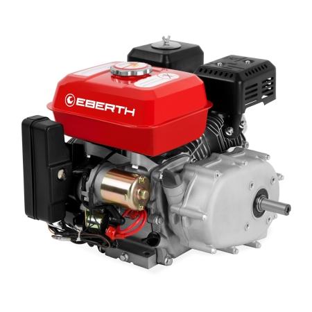 EBERTH Motor de gasolina de 6,5 hp / 4,8 kW y 196 cc