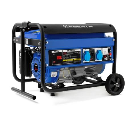 EBERTH Generador eléctrico 2200W y 5,5 CV