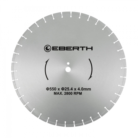EBERTH Disco de corte de diamante 550