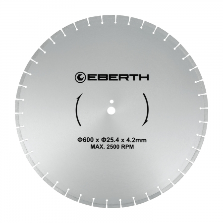 EBERTH Disco de corte de diamante 600