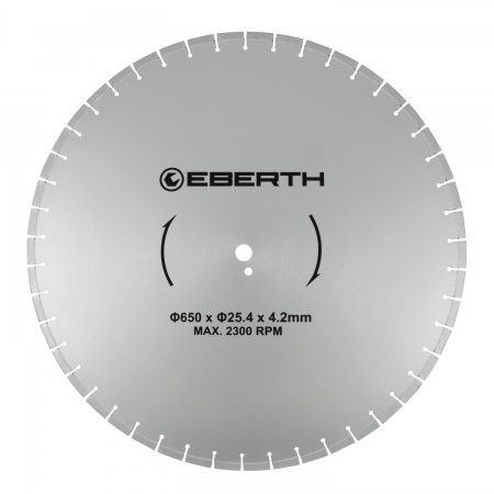 EBERTH Disco de corte de diamante 650