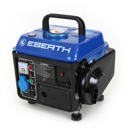 EBERTH Generador de energia gasolina 750W y 2 CV