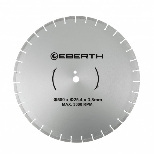 EBERTH Disco de corte de diamante 500