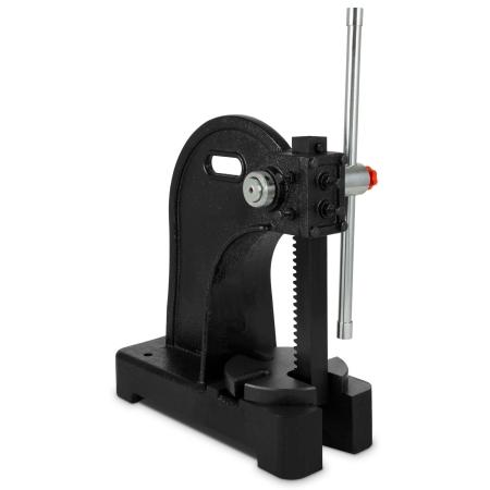 EBERTH Prensa de mandril giratoria para taller, 2000 kg