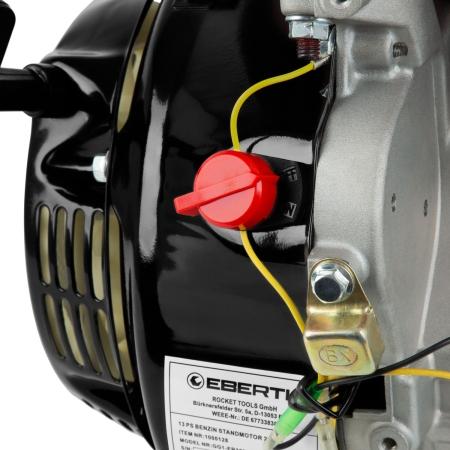 EBERTH Motor de gasolina 13 CV / 9,56 kW 3600 rev/min con 389 cc